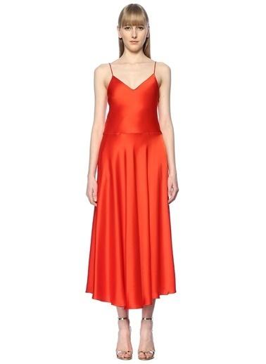 Stella Mccartney Elbise Kırmızı